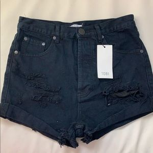 Tobi high waisted shorts